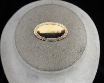 Vintage Gold Filled Engravable Pin