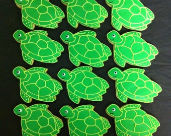 Turtle Cookie Favors