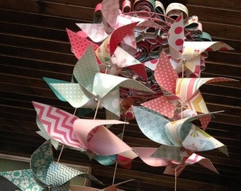 Pinwheel Baby Mobile - Custom Made