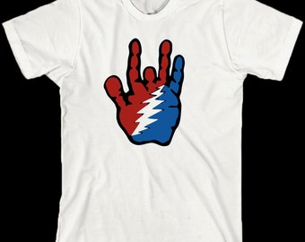 Grateful Dead T Shirt  ... Steal Your Hand ... Jerry Garcia Lot Tee