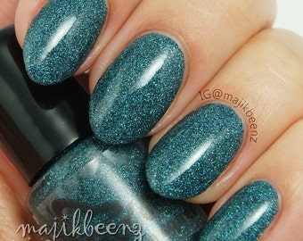 High Tides- Fine Glitter Polish