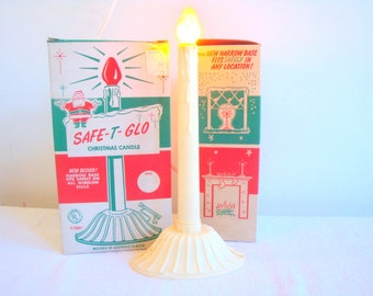 Vintage Safe T Glow Christmas Candle with Box