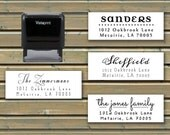 Address Stamp - Custom Self-Inking Stamp in 5 Ink Color Choices