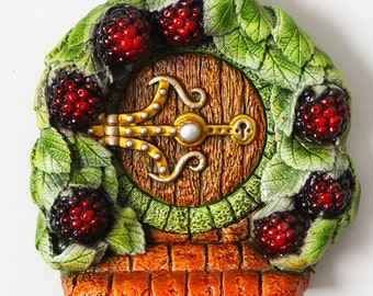Summer Blackberry (Bramble) Fairy Door