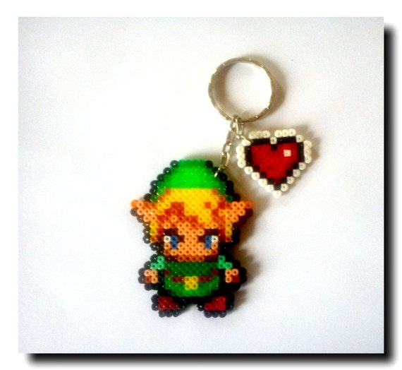 "Llaveros Link ""The Legend of Zelda"", diferentes versiones."