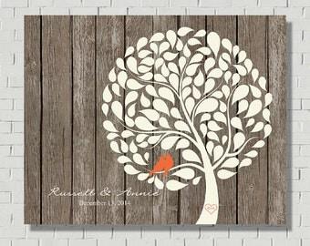 Wedding Guest Book Wood Guest Book Alternative, Rustic Wedding Tree Guest Book Tree, Wedding Gift Anniversary Gift Wedding Guestbook Ideas