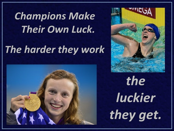 Olympic Swimmer Quotes Ledecky Olympic Swimmer