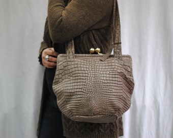 Vintage PICARD leather bag ....(273)