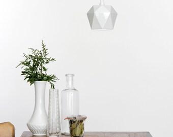 Porzellan hanging lamp [K1] Lamp triangulated