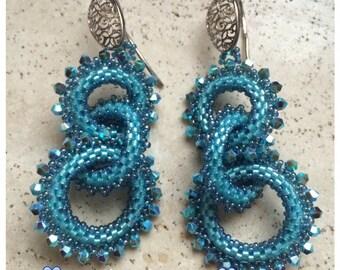 tutorial Lady Elizabeth earrings