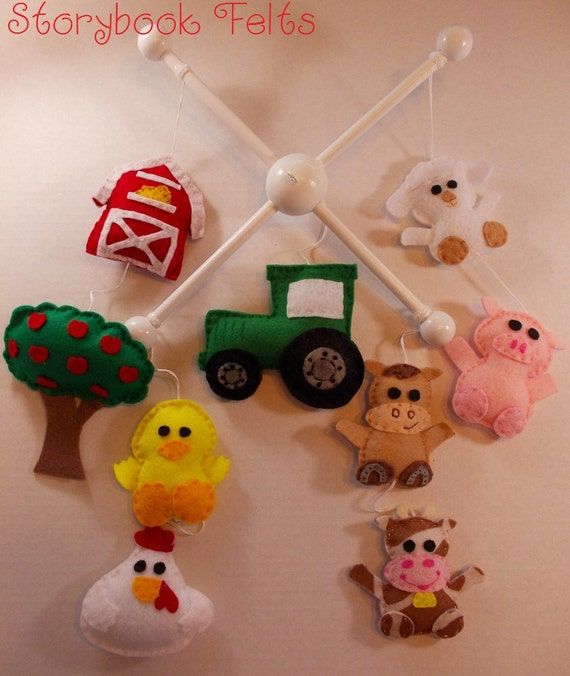 Shop Closing Sale Make Your Own Baby Mobile Farm