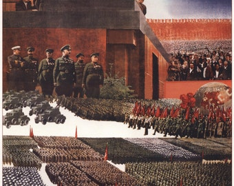 Wall decor, CCCP, Soviet poster, 428