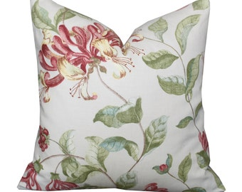 """ON SALE - 20"""" Nina Campbell Lonicera Pillow Cover"""