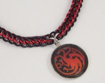 Targaryen Chainmail Necklace