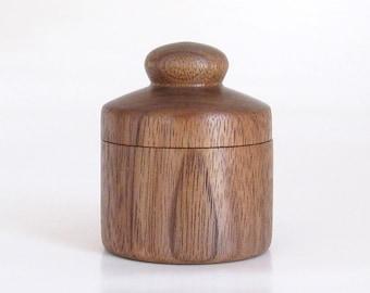 Tiny Walnut Trinket Box