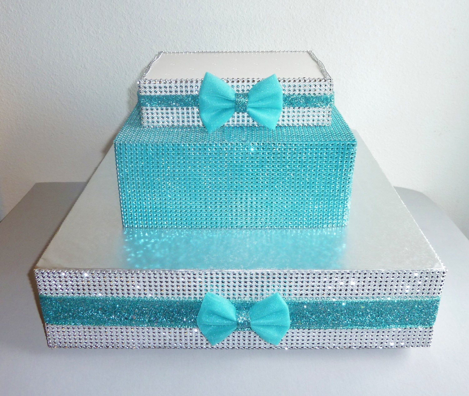 Navy Blue Aqua And Silver Wedding Viewing Gallery