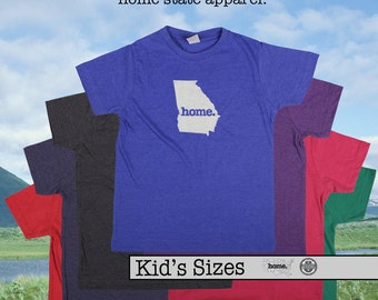 Georgia home tshirt KIDS sizes The Original home tshirt