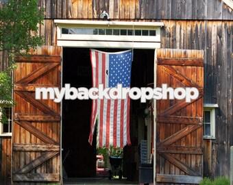 Open Barn Door 8 ft barn door | etsy