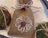Items Similar To Burlap Favor Bags Rustic Wedding Favor