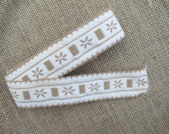 Vintage Trim, Trims, Ribbon, Edging, Sewing Trims, Trims for Sewing, Fabric Trim, By the Yard, Vintage Ribbon