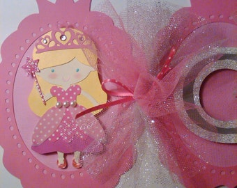 Pink Princess Party Banner