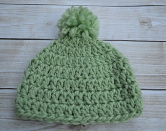 Crocheted Baby Hat - Baby Hat - Newborn Hat
