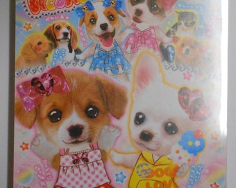 Kawaii Puppy Memo Pad