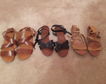 Assorted Womens Strappy Sandals