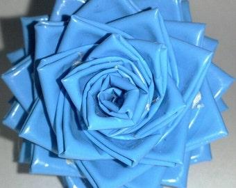 Custom Duct Tape Rose Rings