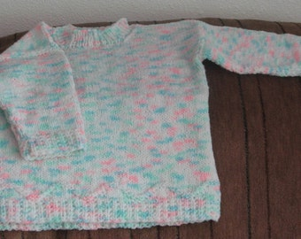 BY-002 Knitted Baby Pullover Sweater