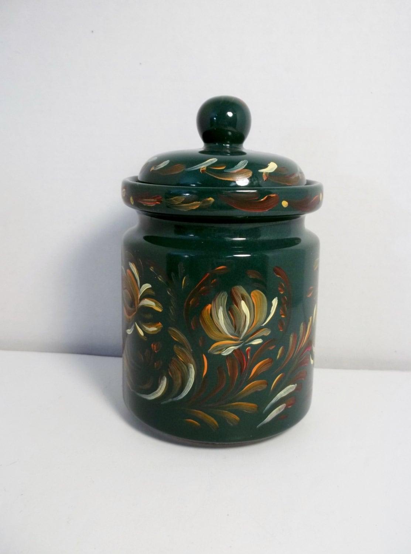 ceramic kitchen canisters kitchen canister green ceramic stoneware jar kitchen