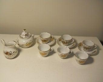 14 Vintage Tea Set Bits and Pieces