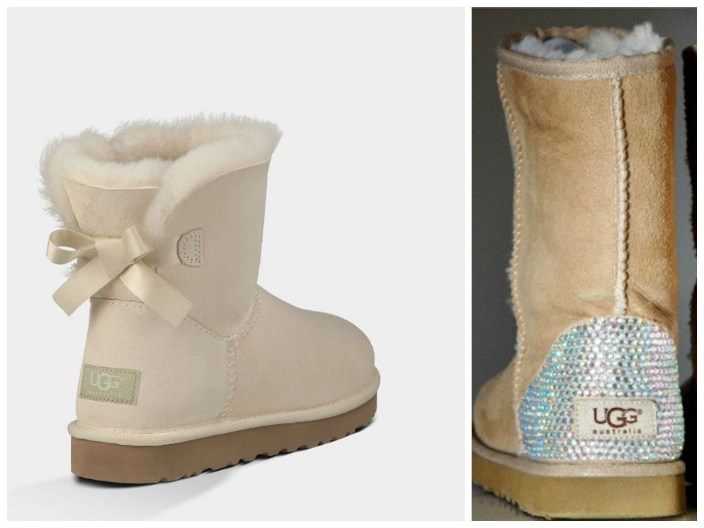 fake ugg boots with bows
