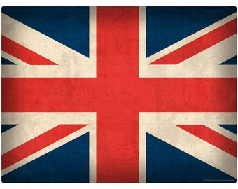 United Kingdom Flag Union Jack Wall Decal #48306