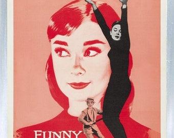 Audrey Hepburn - Funny Face - Fridge Magnet – New