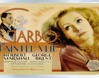 Greta Garbo - The Painted Veil - Fridge Magnet – New