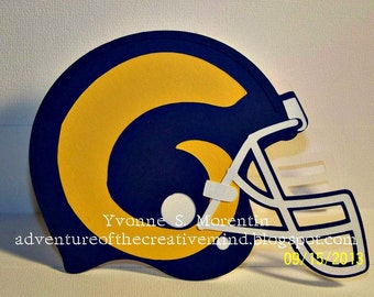 Rams Football  Greeting Card...