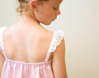 Sweet Dreams Vintage Camisole pattern - perfect for Summer sleepwear - PDF pattern