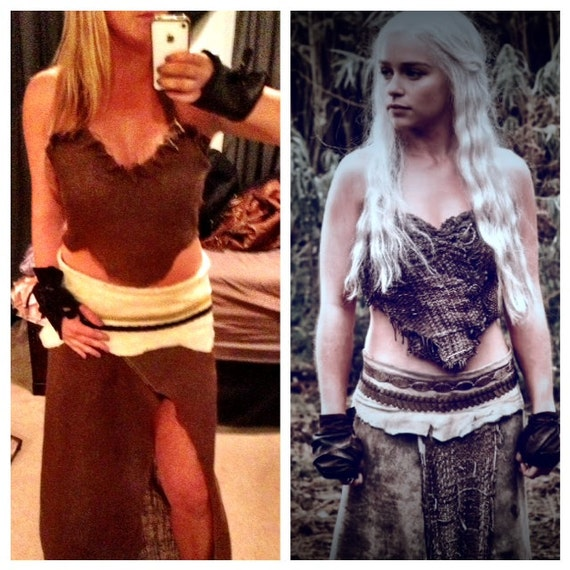 Game of Thrones Khaleesi Dothraki Halloween by ManyThingsMari