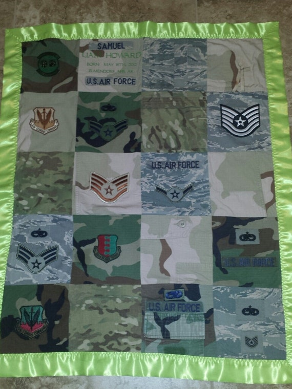 Memory Military Uniform Quilts