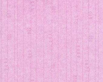 RJR Fabrics Jacquline Decker Purrfect Notions 1906 02 Tonal Stripe Pink Yardage