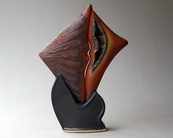 Hand-built Stoneware Sculpture