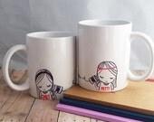 Best Friend Long Distance Coffee Mug