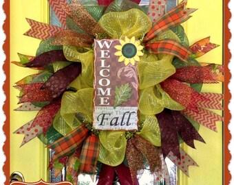 Fall Wreath #16 - SKU 060124