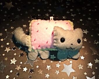 Kawaii Nyan cat keychain