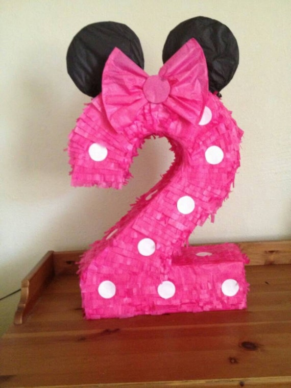 Piñata number 2 minnie mouse inspiration. by AnaIsabelCreations
