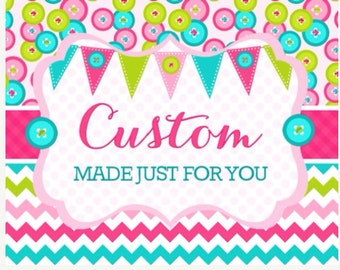 Need by April 27 - Custom Pink and Gold Christening banners