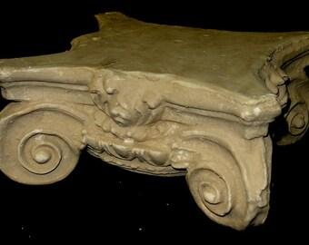 Greek Roman Ionic Capital Scamozzi Ionian Riser Column