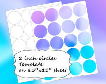 cupcake topper template etsy