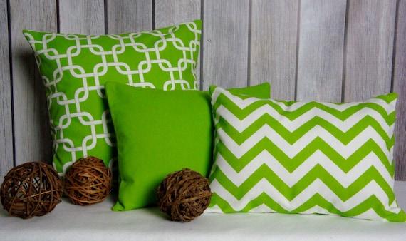 Green Pillows. Chevron Pillows. Solid Pillows. Throw Pillows. Accent Pillows. Solid Green Pillows. Christmas Pillows